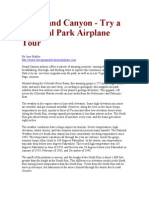 Fly Grand Canyon Try a National Park Airplane Tour