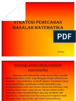 Strategi Pemecahan Masalah Matematika