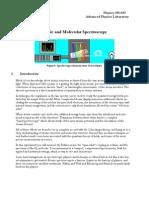 Atomic Spectroscopy 2005