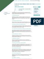 List of BDA Advice Sheets