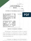 Motion to Quash Subpoena BIR Comm