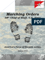 38th CSA Marching Orders (January 2012)