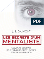 Les Secrets d Un Mentalis