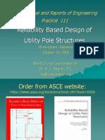 Manual Asce 111 Postes