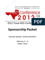 Texas Red Sponsorship Packet