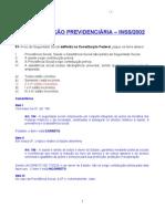 Prova LegPrevid INSS 2002 LER
