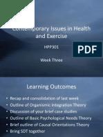 HPP301 Week Three Slides