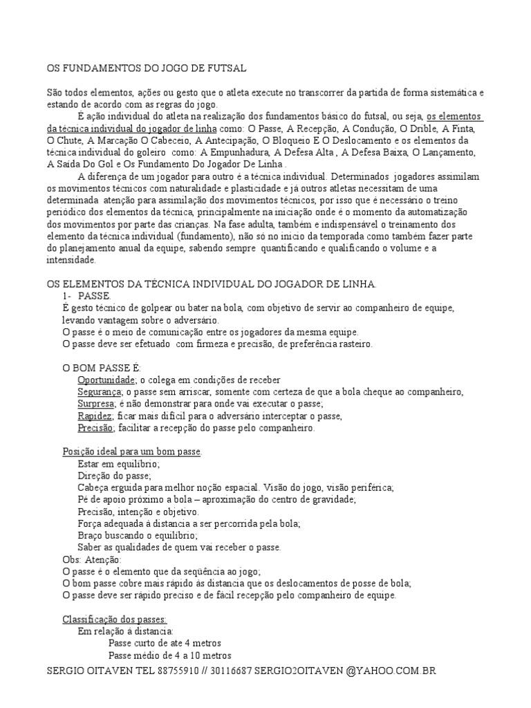 FUTSAL FUNDAMENTO e7993002c8803