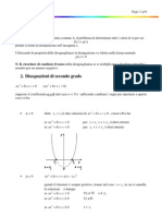 Formulario Disequazioni
