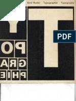 Typographie - A Manual of Design - Emil Ruder