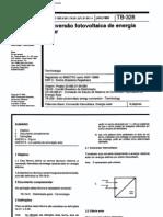 Abnt - Nbr 10899 Tb 328 - Conversao Fotovoltaica de Energia Solar