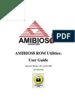 AMIBIOS ROM Utilities User Guide