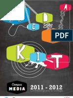 2012 Campus Media Group - Media Kit
