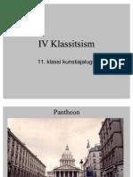 IV Klassitsism