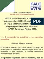 15 - NEVES 2007 A referência e sua expressão