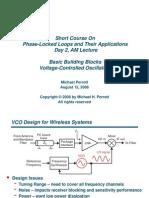 Basic Building Blocks Voltage-Controlled Oscillators