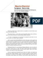 A Maurice Blanchot (J. Derrida)