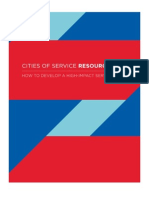 Cities of Service Resources
