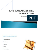 Las Variables Del Marketing Mix