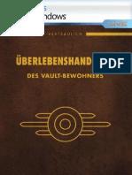 Fallout3 de Pc Manual