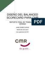 Reporte Final Trabajo de Verano CMR - JGQ