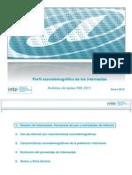 Perfil sociodemográfico de los internautas. Análisis de datos INE 2011 (ONTSI) -EN12