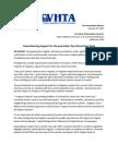 VHTA Press Release