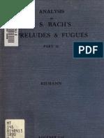 50897710 Analysis of J S Bach Vol 2