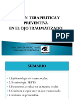 Trauma Ocular Medical Trainer Duplicado