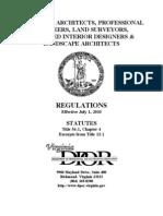 DPOR Board Regulations