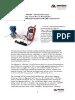3095MV Calibration Procedure w QuickCal Merian 4010