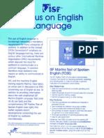 Marlins English Language Test & TOSE