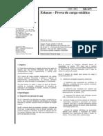 MB 3472 - 1991 - Estacas - Prova de Carga Estática