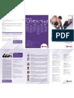 Tríptico Diplomado Internacional en Gerencia de Seguridad y Salud en las Empresas