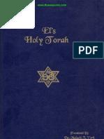 EL'S HOLY TORAH