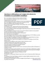 Questions scientifiques Français