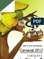 PROGRAMACIÓN CARNAVAL DE CARTAGENA 2012