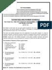 Admission 2012 Tut Ion Fees Schedule
