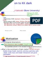 Mitsuru Kakizaki- Introduction to KK dark matter