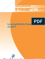 2012 01 Coe Rexecode Document de Travail N28 Competitivite France 2011 2012 01