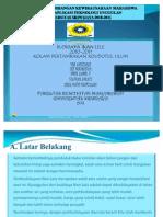 Presentasi Program an Kewirausahaan Lele Sangkuriang