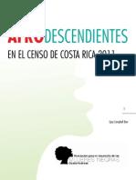 Afrodescendientes en El Censo de Costa Rica 2011