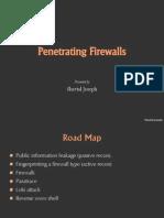 Penetrating Firewalls