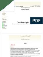 Osciloscopio Usb - Projeto Completo