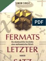Singh Simon - Fermats Letzter Satz