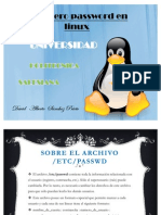 El Fichero Password en Linux