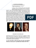 O Filósofo do Pessimismo - Breve Estudo da Filosofia de Schopenhauer