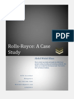 rolls-royce core competencies and innovation strategy analysis