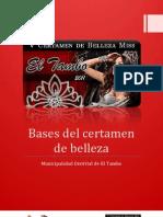 Base de Certamen de Belleza - 1