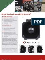 LRAD 100X Datasheet